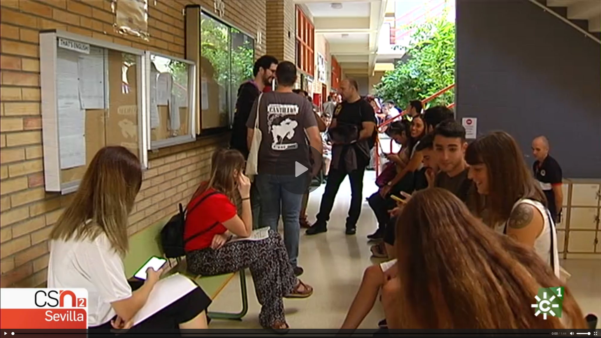 Reportaje sobre CEN Solutions en Canal Sur Televisión