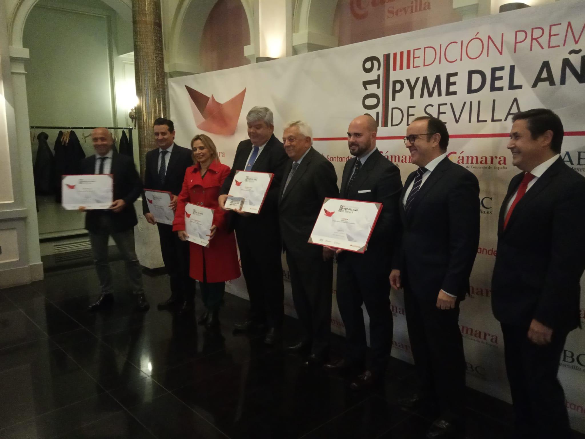 CEN Solutions, Premio Pyme sevillana de 2019 de la Cámara de Comercio