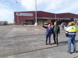 Sevitrade construirá otra nave en la Zona Franca de Sevilla