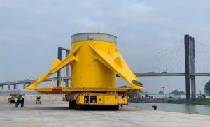 Tecade envía las primeras TP's para el proyecto eólico marino Moray East en Escocia