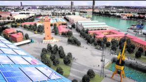 El Delegado Especial del Estado para la Zona Franca de Sevilla en el Polígono Astilleros