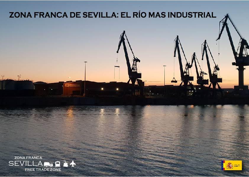 ZONA FRANCA DE SEVILLA: El río más industrial