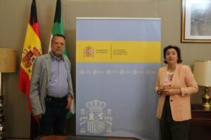 El delegado Especial del Estado para la Zona Franca de Sevilla comunica a la delegada del Gobierno en Andalucía la situación de las empresas instaladas y su ampliación durante el #COVID-19
