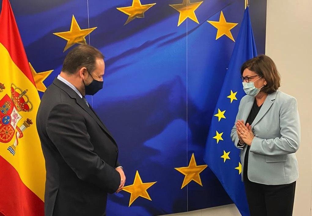 Ábalos pide que el Plan de Recuperación europeo garantice la viabilidad del transporte