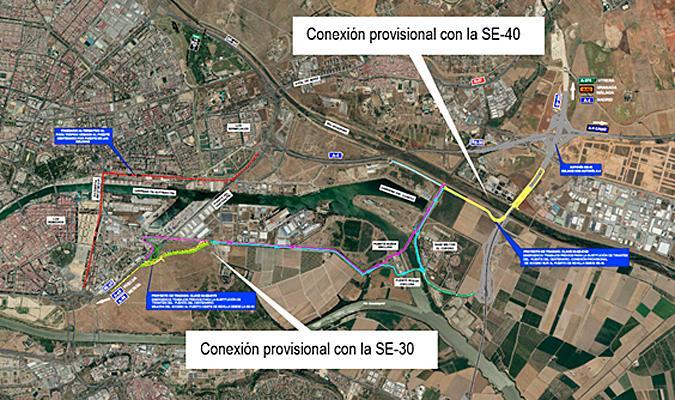 Aprobado el proyecto de los desvíos para la obra del puente del V Centenario