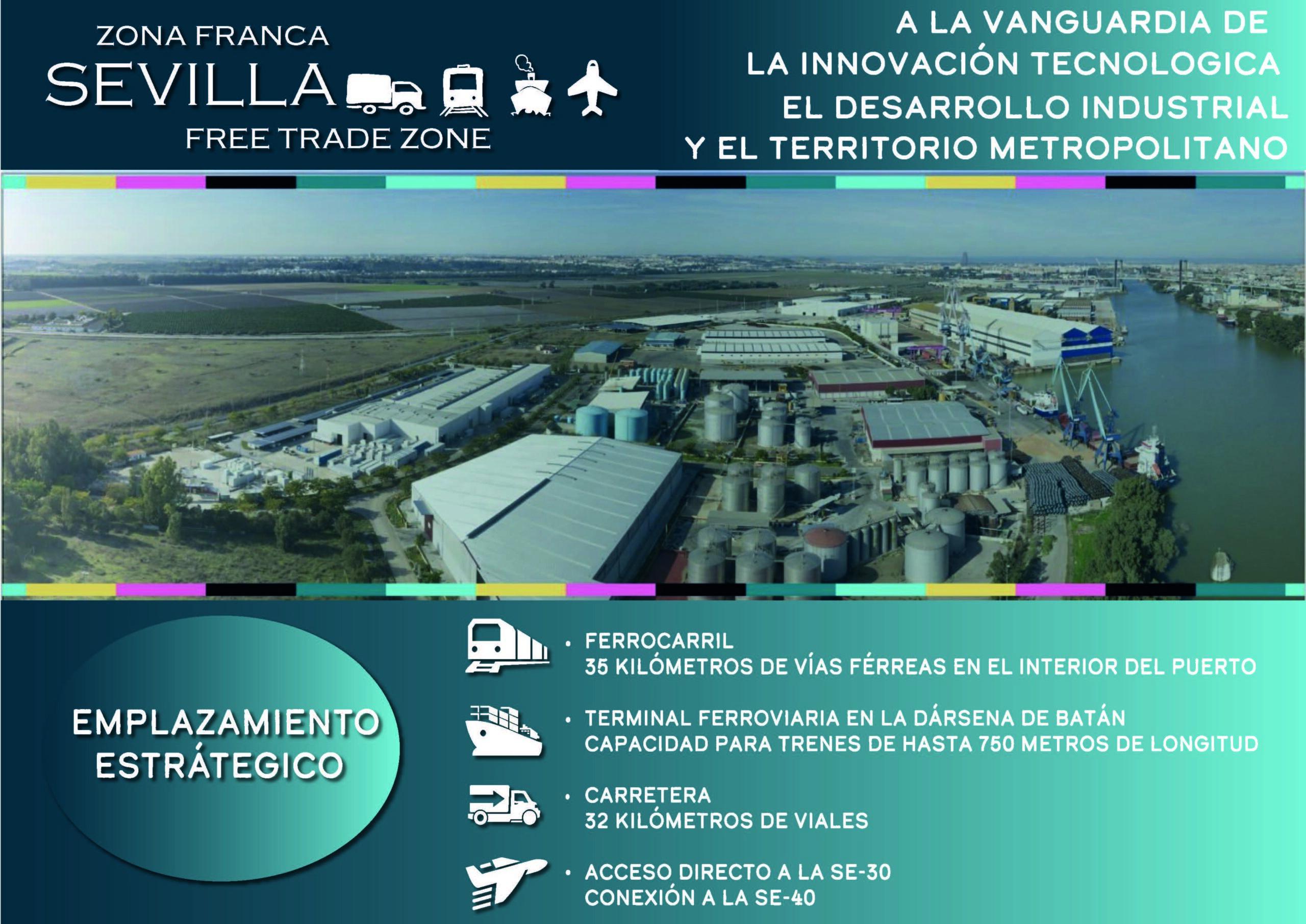 En este momento estás viendo La Zona Franca de Sevilla, un motor para la actividad económica y el empleo