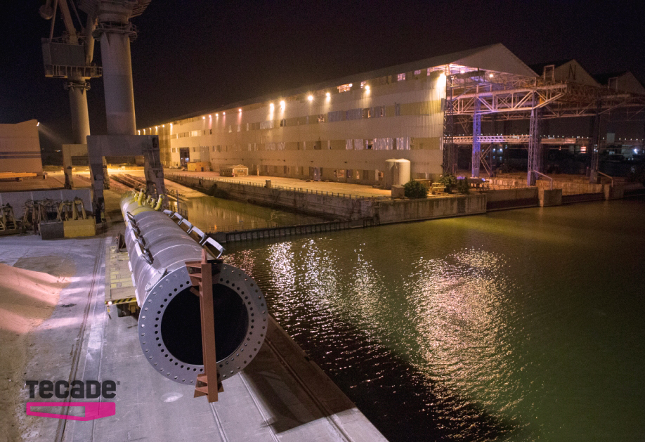 El nuevo puente de San Ignacio en Bilbao, fabricado por TECADE, supera las rigurosas pruebas de carga