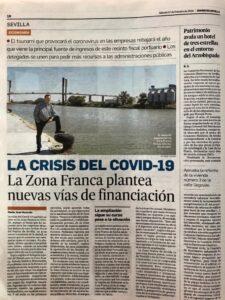 La Zona Franca de Sevilla plantea nuevas vías de financiación para salvar la crisis