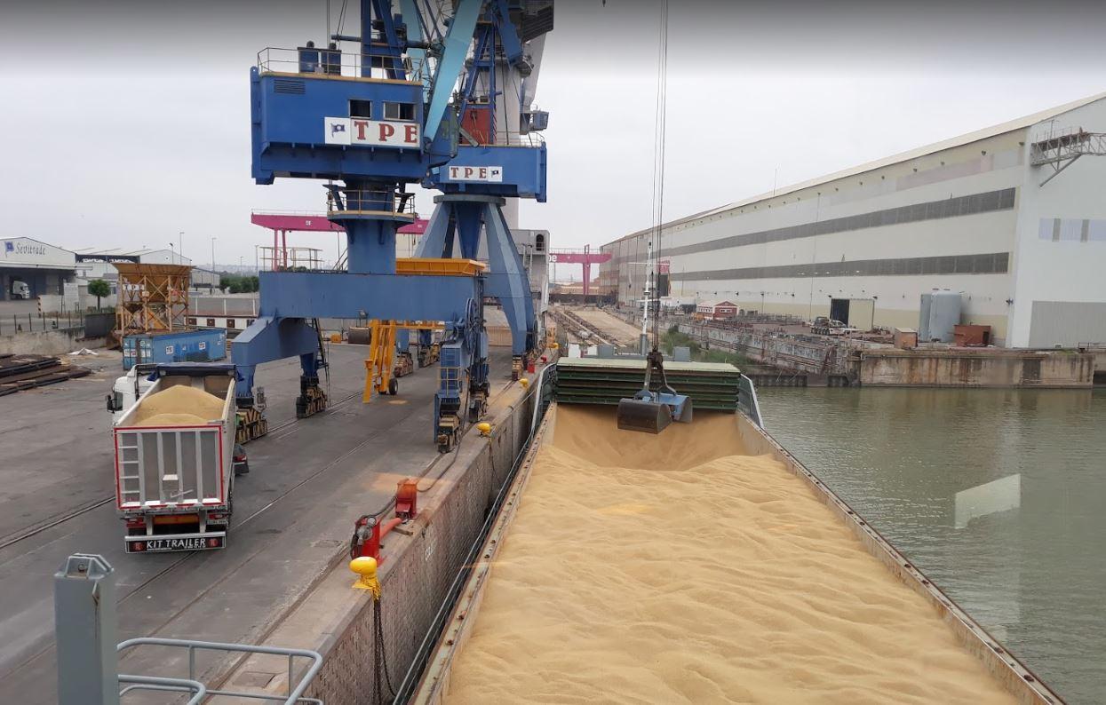 Los puertos de interés general movieron 515,7 millones de toneladas en 2020