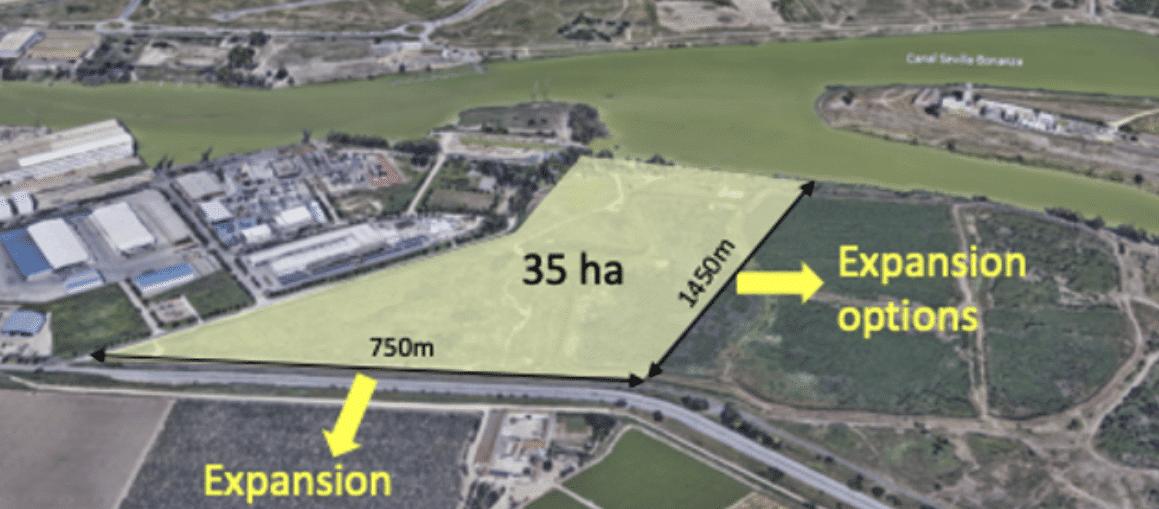 La zona franca de Sevilla contará con una fábrica solar con una capacidad de 5 GW al año